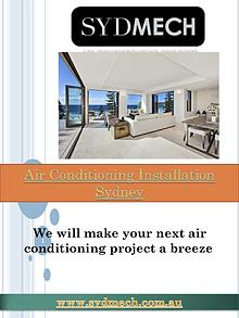 Air conditioning Sydney   http://www.sydmech.com.au/