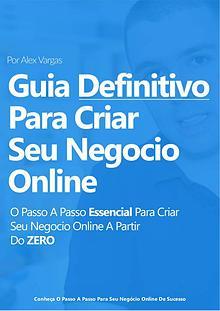 eBook - Guia Definitivo para Criar Seu Negócio Online de Sucesso (GAR