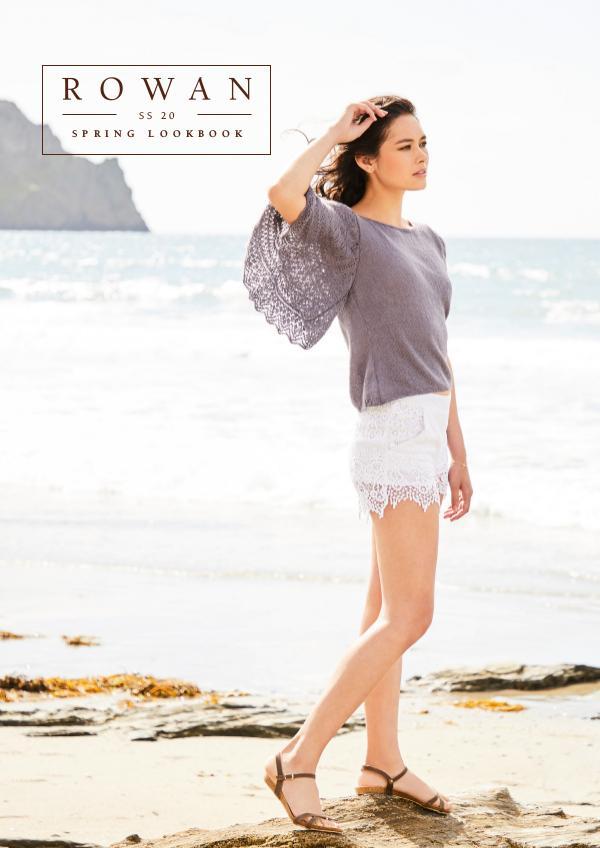 Rowan Yarns Digital Magazine SS20 Lookbook