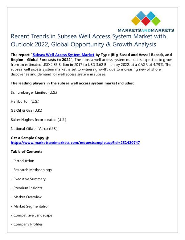 Energy and Power Subsea Well Access System Market