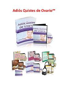 Adios Quistes De Ovario PDF, Libro Gratis Descargar