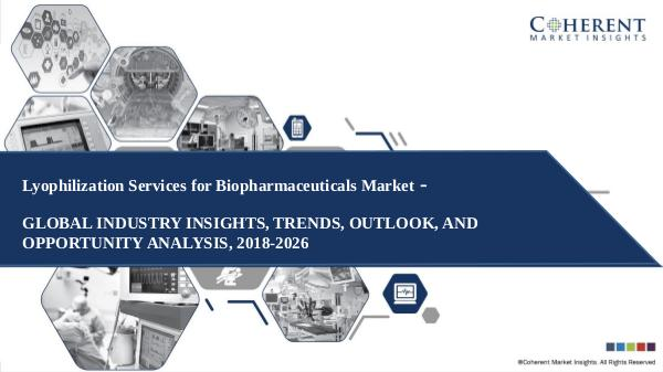 Pharmaceutical Industry Reports Lyophilization Services for Biopharmaceuticals Mar