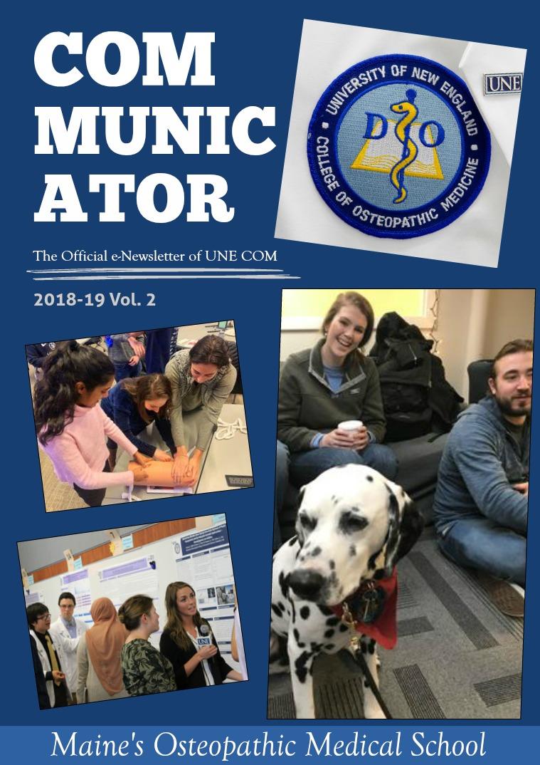 The COMmunicator 2018-19 Vol. 2