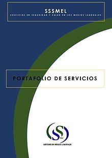 PORTAFOLIO DE SERVICIOS SSSMeL