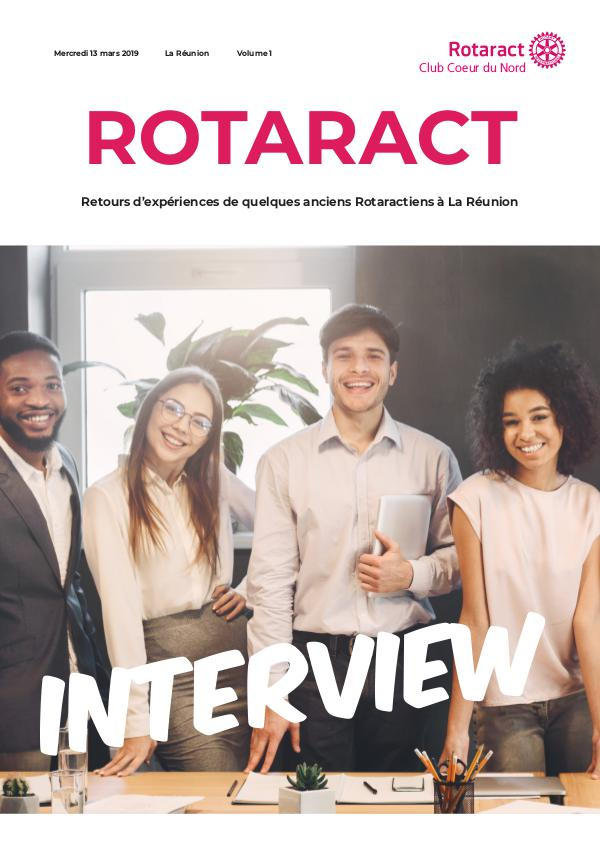 Interview du Rotaract Club Coeur du Nord 13 mars 2019