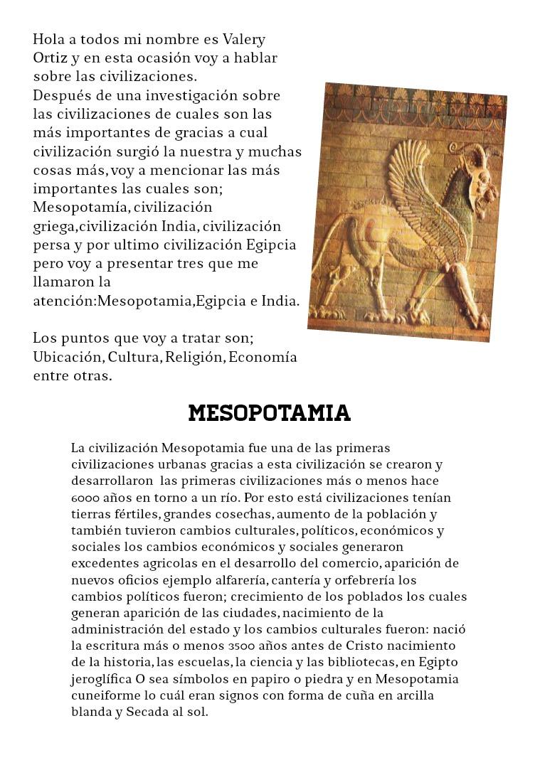 Civilizaciones Edad Antigua hecho por valery Ortiz