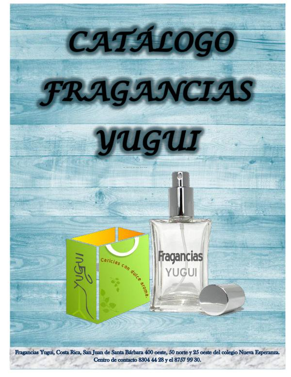 Catálogo CATÁLOGO FRAGANCIAS YUGUI