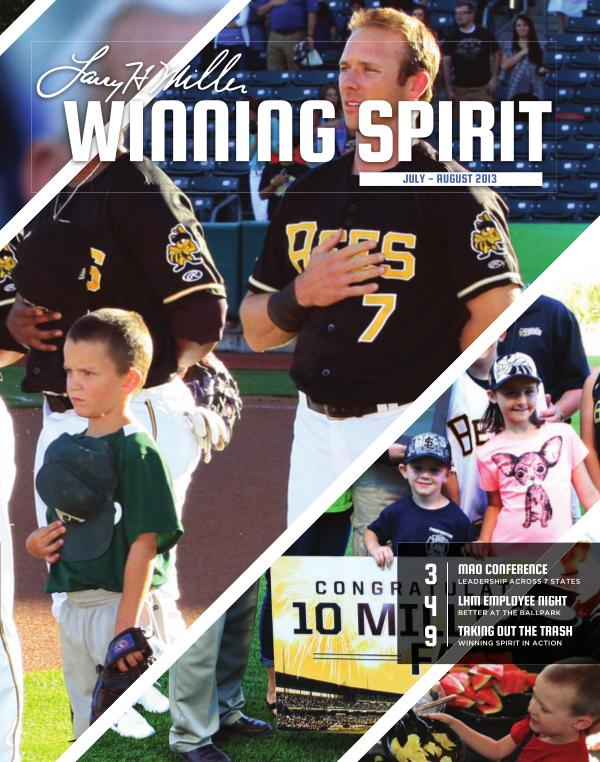 Winning Spirit Magazine July - August 2013 July - August 2013