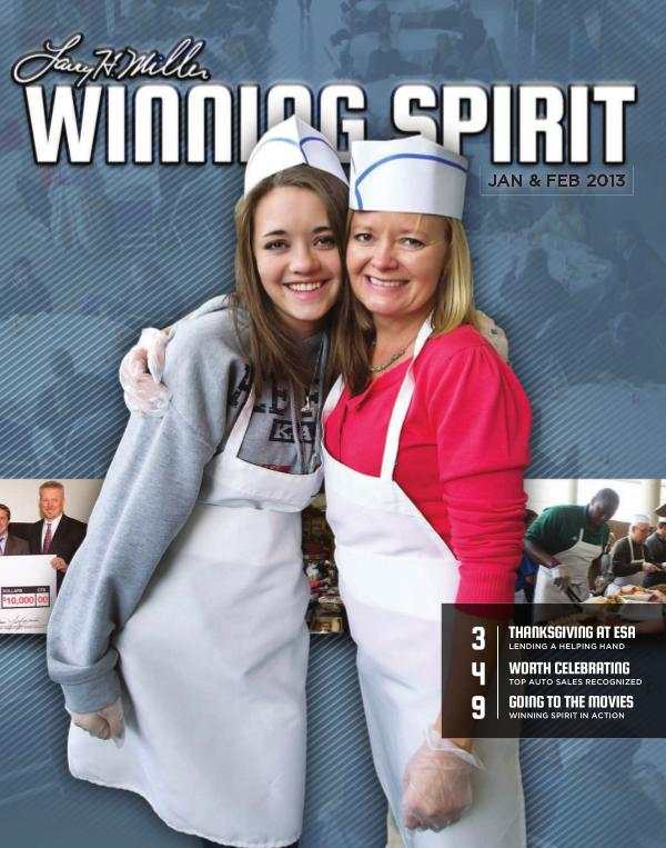Winning Spirit Magazine January - February 2013 January - February 2013