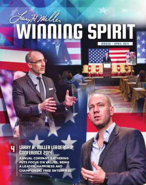 Winning Spirit Magazine March-April 2014