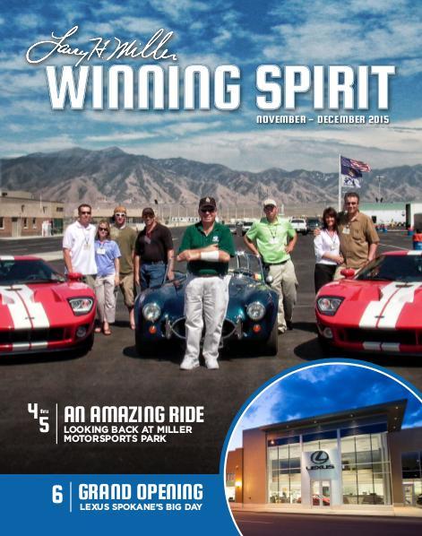 Winning Spirit Magazine November-December 2015