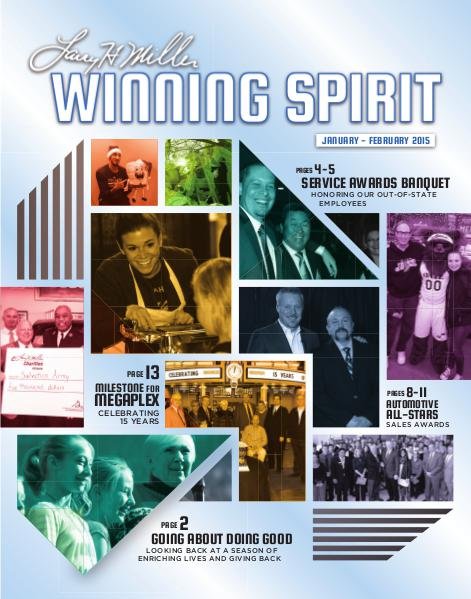 Winning Spirit Magazine January-February 2015