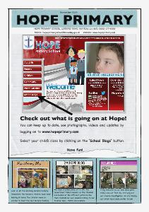 Hope November Newsletter Nov 2013