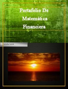 Matematica Financiera 1