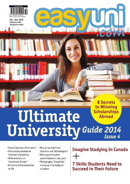 EASYUNI Ultimate University Guide 2013 Issue 4