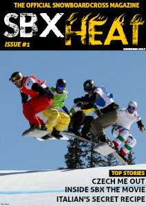 SBX HEAT Issue #1 Dezember 2013