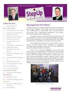 Step Up Step Up - December 2013