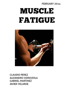 Muscle Fatigue