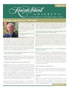 Kiawah Island Digest March 2014
