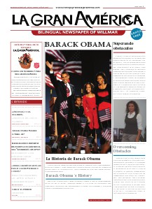 La Gran América Newspaper Vol Número 4, December,2008