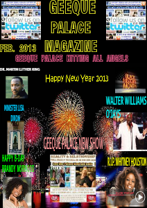 GEEQUE PALACE MAGAZINE FEBRUARY 2013