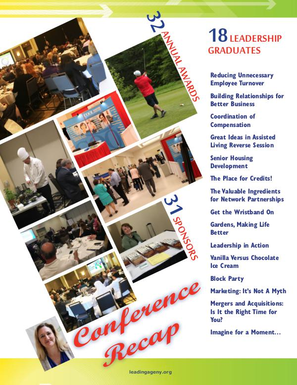 LeadingAge New York Annual Conference 2017 June 2017