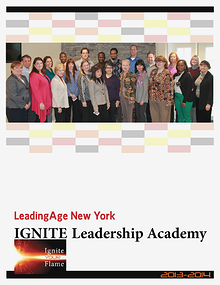 Leadership Academy 2013-14 LeadingAge New York