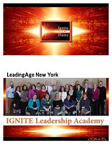 IGNITE Leadership Academy LeadingAge New York 2014-15