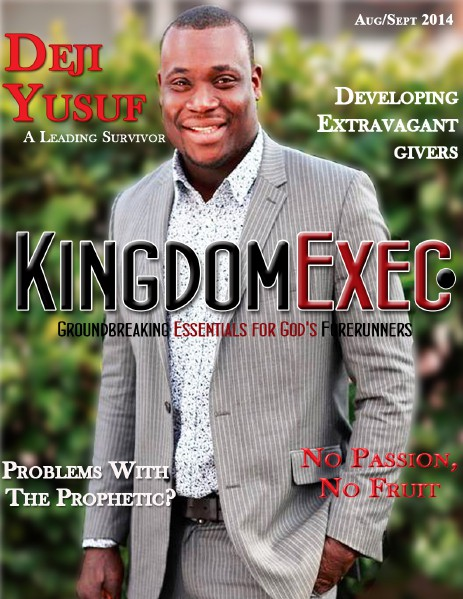 KingdomExec. Magazine August/September Issue