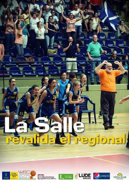 #CCpreinfantil La Salle revalida el regional