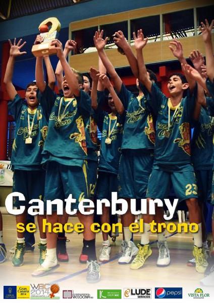 #CCpreinfantil Canterbury se hace con el trono