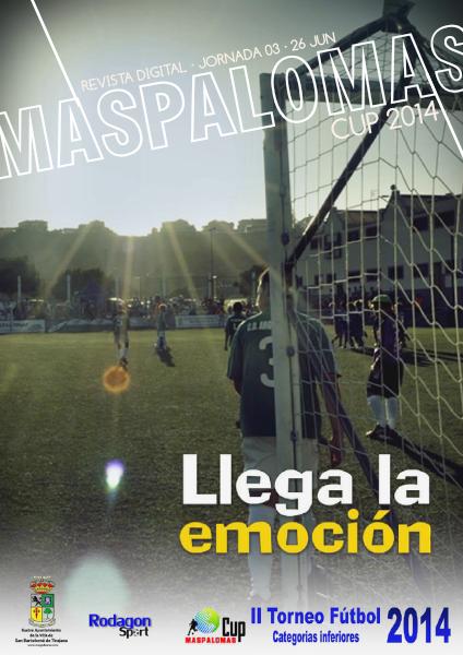 Maspalomas Cup 2014 Llega la emoción