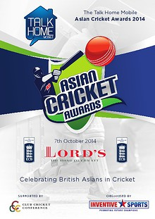 The 'Talk Home Mobile' Asian Cricket Awards 2014