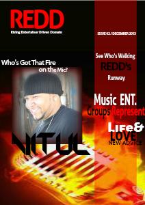 Redd Magazine -Rising Entertainer Driven Domain