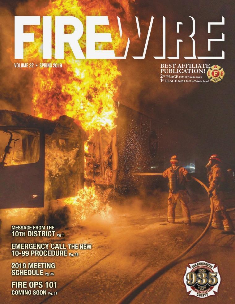 FIREWIRE Magazine Spring 2019