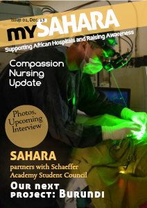 SAHARA Newsletter Dec. 2013