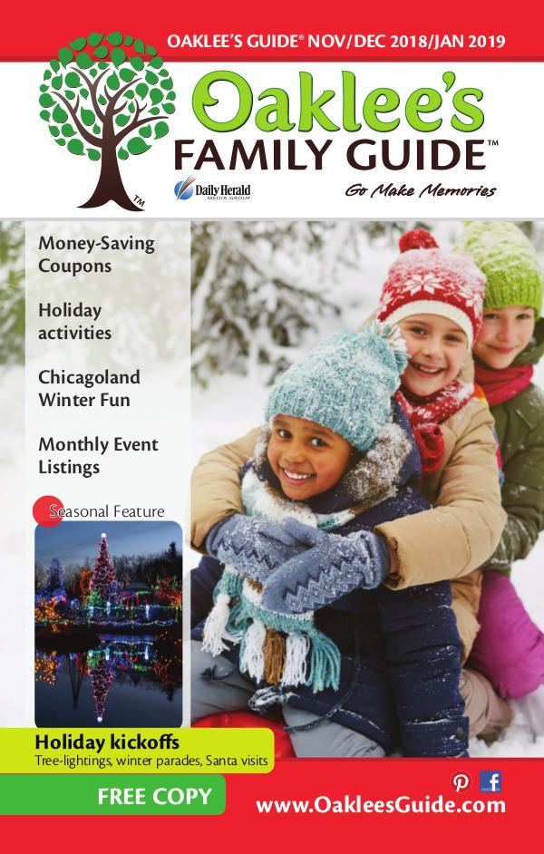 Oaklee's Family Guide November/December/January 2018-2019