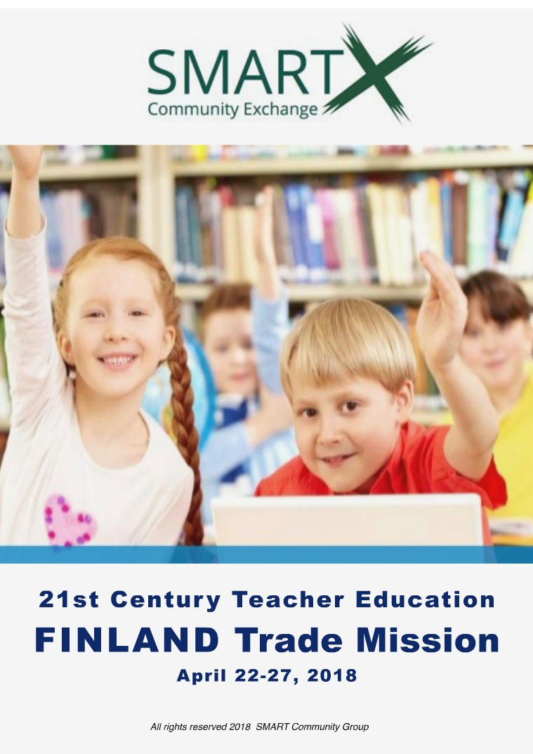 SMART Community Review (SCR) Teacher education in Finland