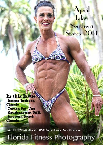 Florida Fitness Photography Volume 34 featuring April Cosimano