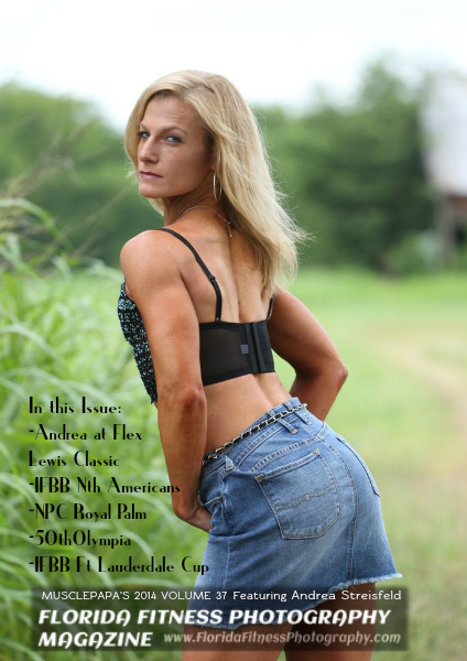 Florida Fitness Photography Volume 37 Featuring Andrea Streisfeld