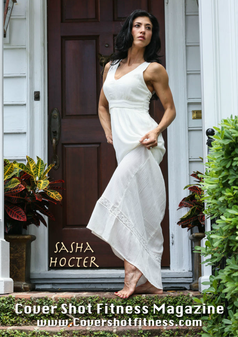 Cover Shot Fitness Magazine Issue 22 Sasha Hocter