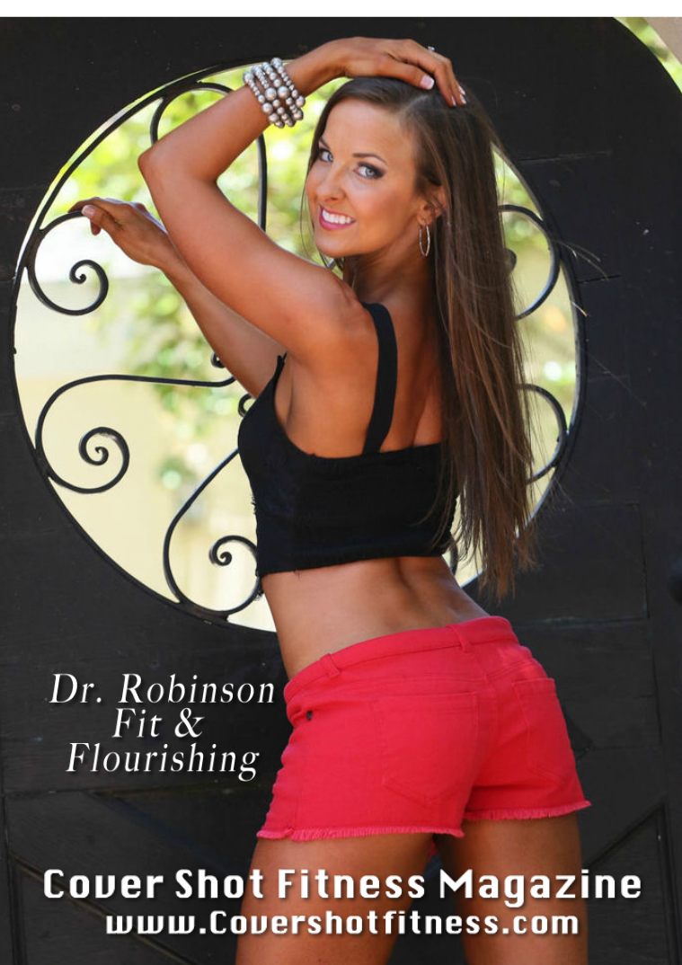 Cover Shot Fitness Magazine Issue 27 Featuring Deborah Lee Robinson