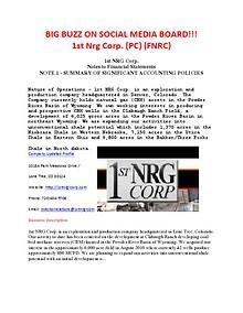 1st NRG Corp.02-27-2014