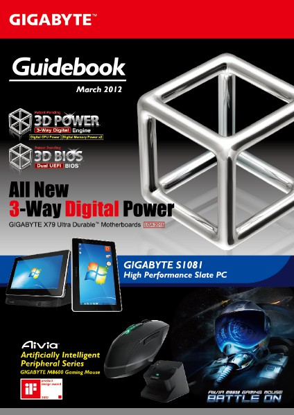 GIGABYTE Guidebook March. 2012