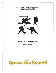 Kishe Piisim Events Sponsorship Proposal 2020
