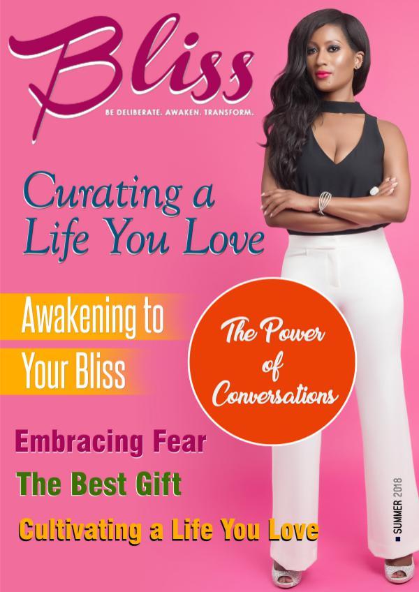 Bliss Magazine Bliss Magazine Summer 2018