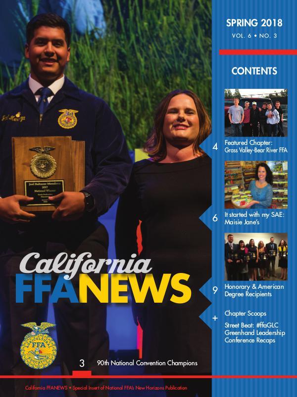 California FFA News Spring 2018