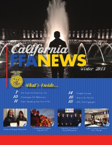 California FFA News Winter 2013