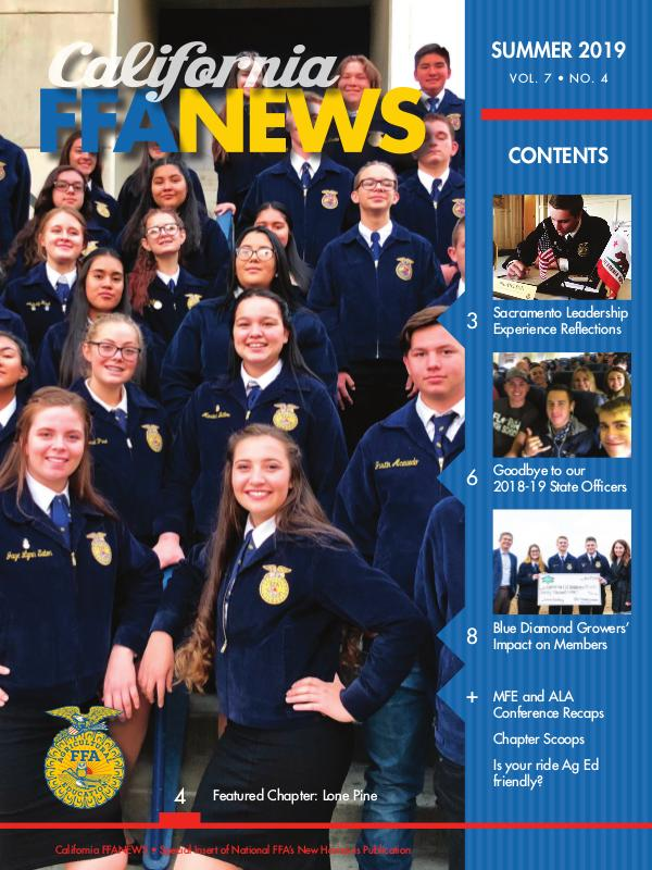 California FFA News Summer 2019