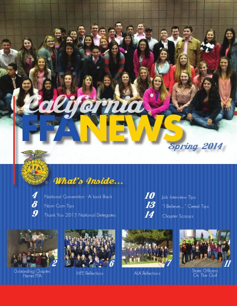 California FFA News Spring 2014